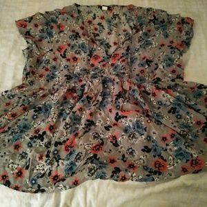 Torrid size 3 blouse.